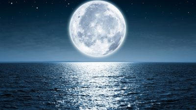 Mond beweist: Anstieg des Meeresspiegels kann Treibhausgasemission senken