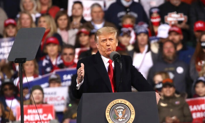 Trump warnte in Georgia: Demokraten wollen Sozialismus – Freie Bahn für radikale Linke