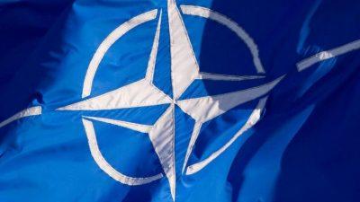 Ukrainischer Außenminister und US-Außenminister zu Gesprächen mit NATO in Brüssel