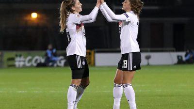 DFB-Frauen besiegen auch die Irinnen – Erstes Gegentor