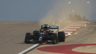 Formel 1 droht Chaos-Qualifikation in Bahrain
