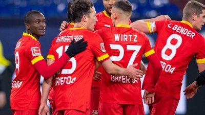 Kein Tor, kein Glück: Leverkusen verlängert Schalker Misere