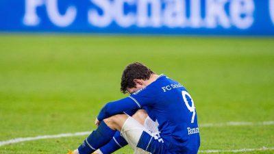 Schalkes Abstiegsangst größer – «Es ist fast zum Kotzen»