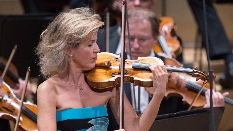 Anne-Sophie Mutter sammelt Spenden für Musiker