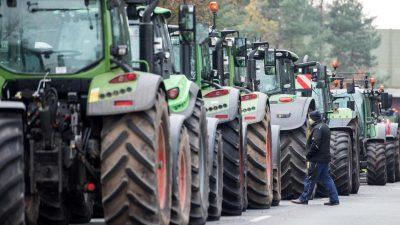 Hunderte Bauern blockieren mit Traktoren Aldi-Lager – Lidl schlägt Ombudsstelle vor