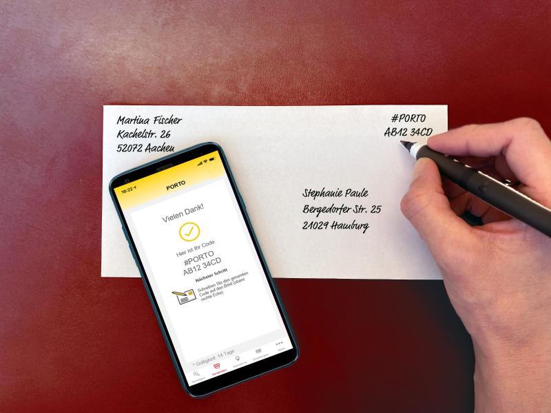 Deutsche Post bietet neue Brief-Frankierung übers Smartphone an