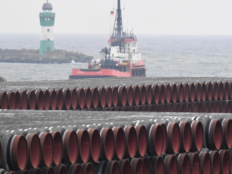 Bau der Ostsee-Pipeline Nord Stream 2 geht weiter
