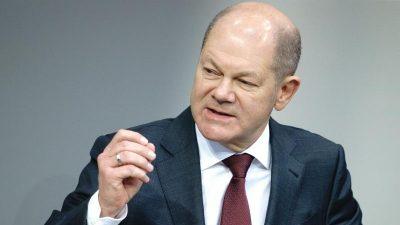 """Scholz: """"Betriebsschließungen zieht die Regierung derzeit nicht in Betracht"""""""