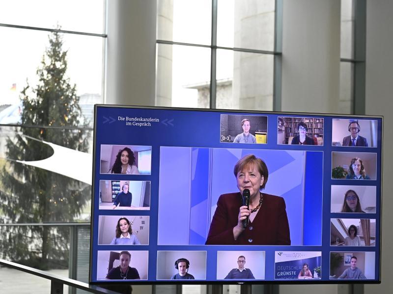 """Merkel: Corona-Leugner und Querdenker sind """"Angriff auf unsere ganze Lebensweise"""""""