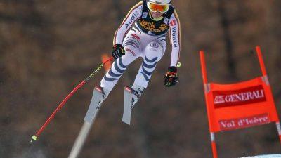 Skirennfahrerin Weidle auf Platz fünf