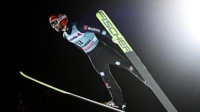 Skispringer Eisenbichler in Engelberg Vierter
