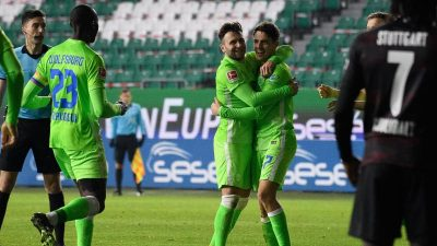 Ohne fünf Quarantänefälle: Wolfsburg springt auf Platz vier