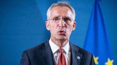 Nato sichert Ukraine Unterstützung gegen Russland zu