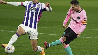Treffer Nummer 644 für Barça: Messi jetzt besser als Pelé