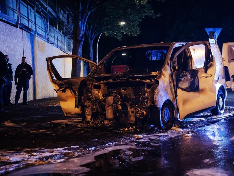 Anschlagsserie in Berlin-Neukölln: Verdächtige in Haft