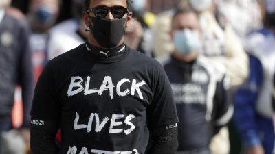 Nicht nur Corona: Kampf gegen Rassismus eint die Sportwelt