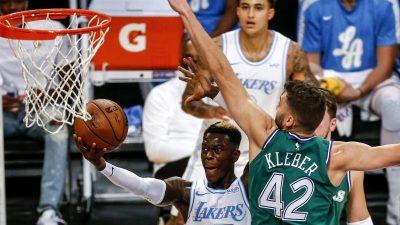 Starker Schröder siegt mit Lakers gegen Klebers Mavericks