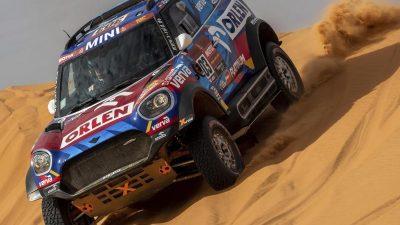 Rallye in Saudi-Arabien: Sponsoren, Sport und gute Bilder