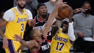 Lakers verspielen dritten Sieg – Hartenstein erfolgreich