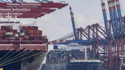 Außenhandel rechnet mit über zwölf Prozent Exportrückgang