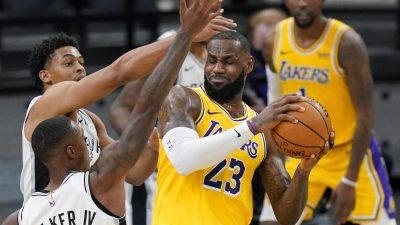 Nächster NBA-Meilenstein für James – Niederlage für Kleber