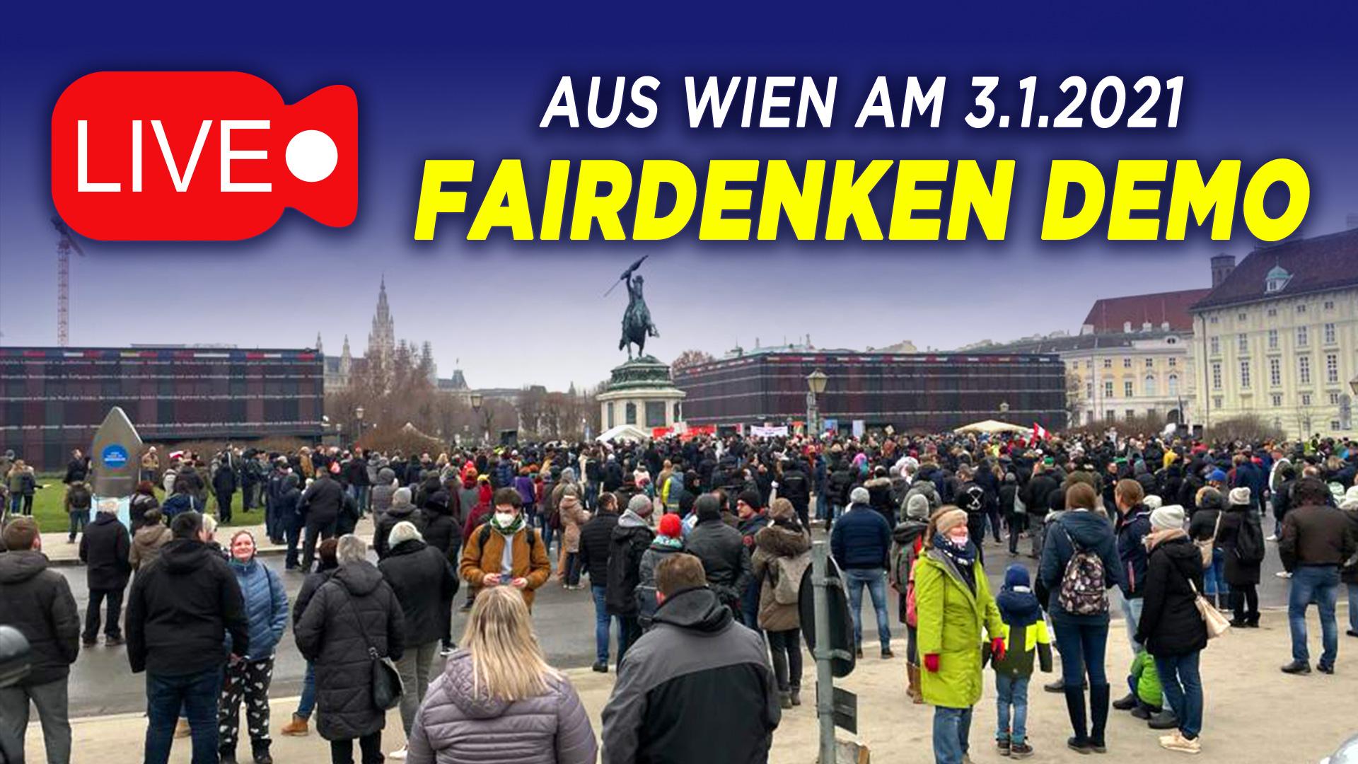 Video: Proteste gegen Corona-Maßnahmen in Wien
