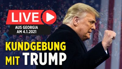 Trump hält Rede in Georgia zur Senatoren-Stichwahl