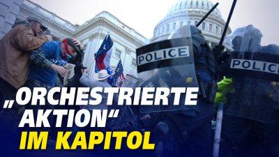 Videoanalyse zum Kapitol deutet auf Zusammenspiel von Aktivisten hin