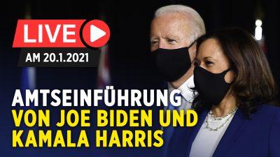 Joe Biden ist zum 46. Präsidenten der USA vereidigt worden