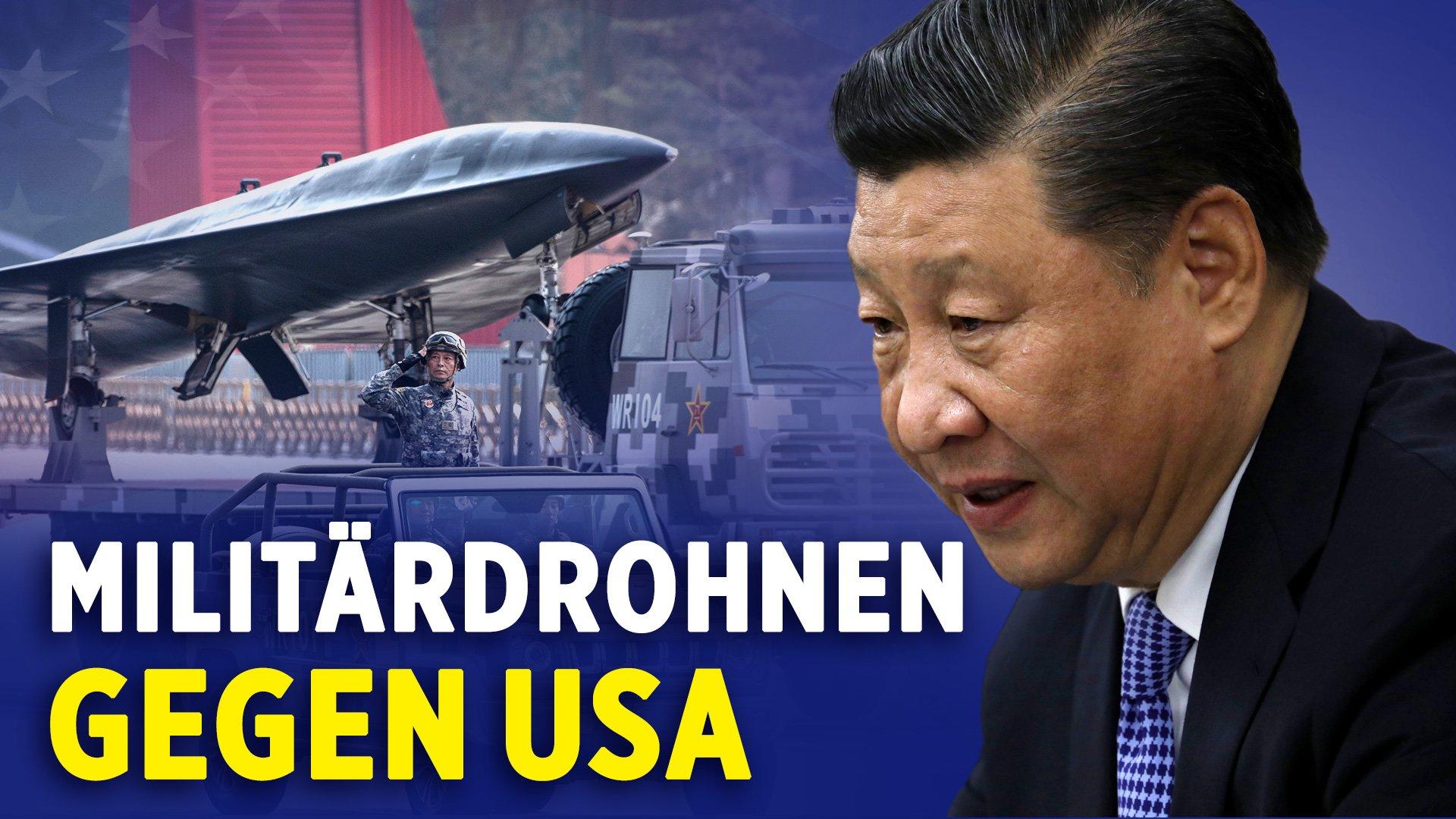 NTD: Big Tech gibt 500 Mio. $ in 10 Jahren für Lobbyarbeit aus | China baut Militärdronen gegen die USA