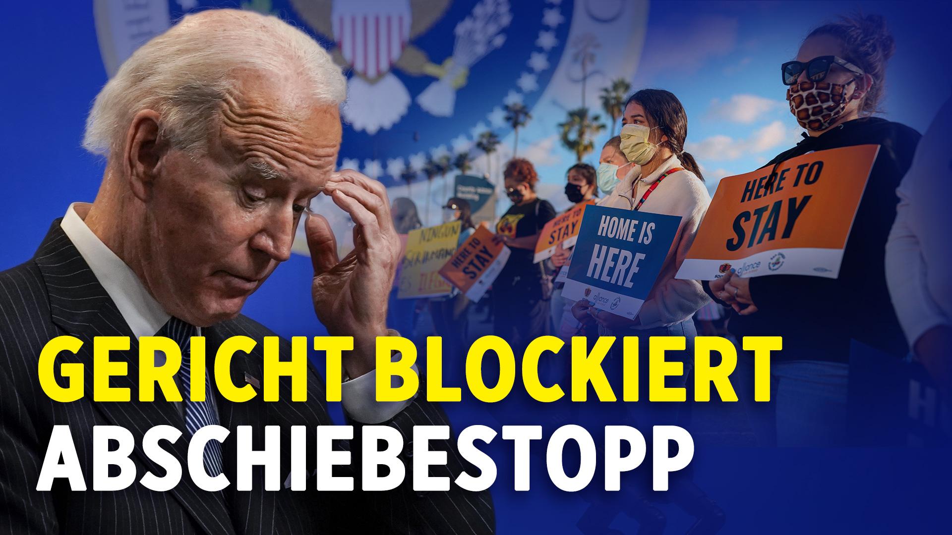 US-Wahl: Gericht blockiert Bidens Abschiebestopp | 45 Senatoren: Amtsenthebung ist verfassungswidrig