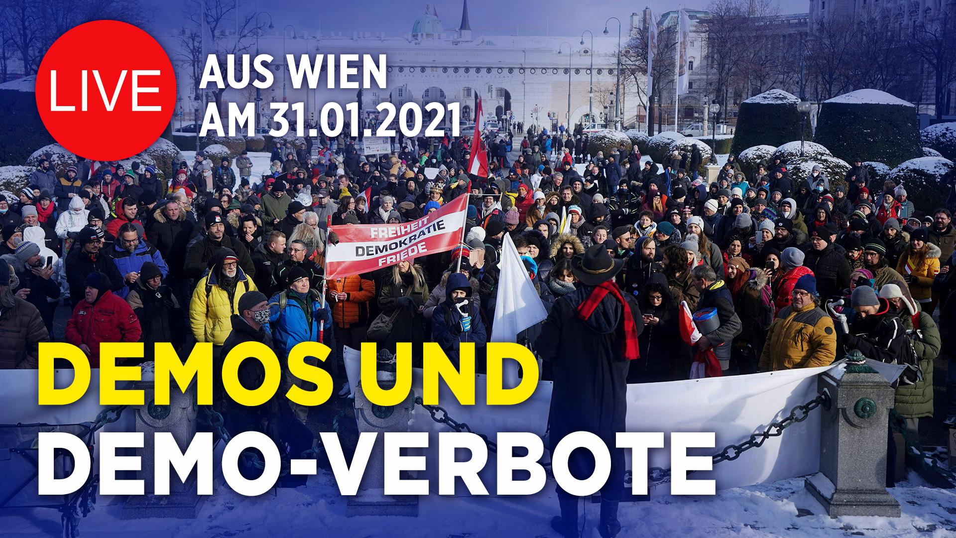 """Corona-Kundgebung in Berlin – """"In Solidarität zu unseren Bauern"""" und """"Deutschland unterstützt Österreich!"""""""