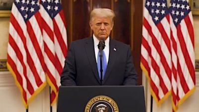 Trumps vollständige Abschiedsrede an die Nation