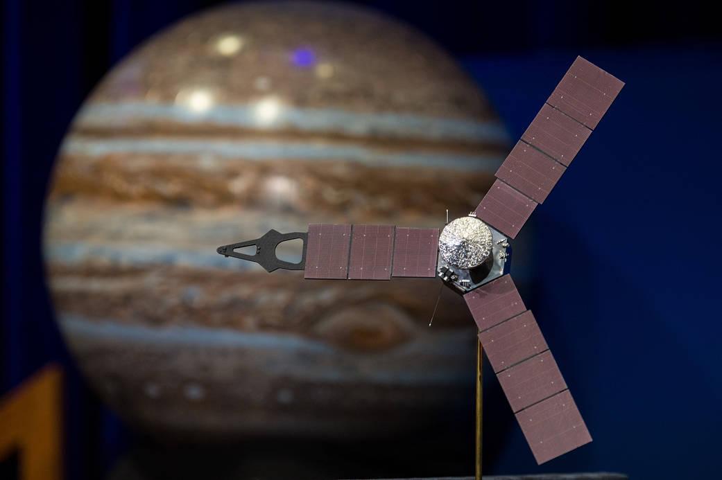 """Raumsonde empfängt fünf Sekunden lang """"Wi-Fi-Signal"""" von Jupitermond Ganymed"""