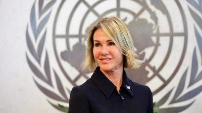 USA: UN-Botschafterin Craft wird Taiwan für drei Tage besuchen