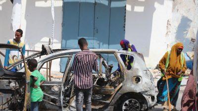 Islamistische Shebab-Miliz greift Hotel in Mogadischu an