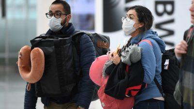 Pflicht zu medizinischen Masken ab 1. Februar auch beim Fliegen