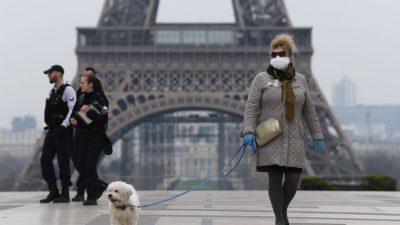 Frankreichs Parlament stimmt für Gesundheitsnotstand bis 1. Juni
