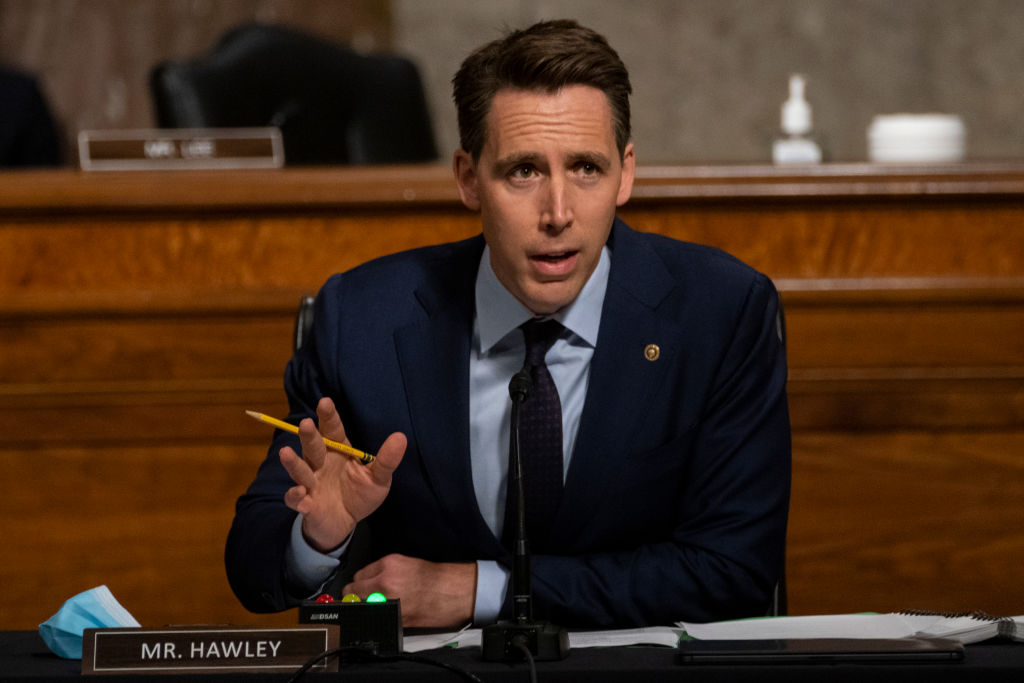 Senator Hawley sieht Freiheit durch linke Cancel Culture massiv gefährdet