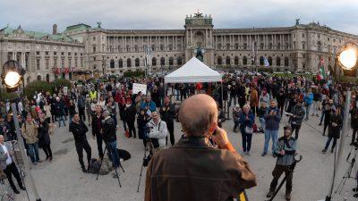 Corona-Politik: Proteste in Nürnberg – Proteste in mehreren österreichischen Städten