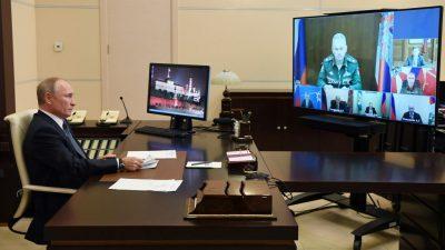 Putin empfängt Alijew und Paschinjan zu Berg-Karabach-Gesprächen