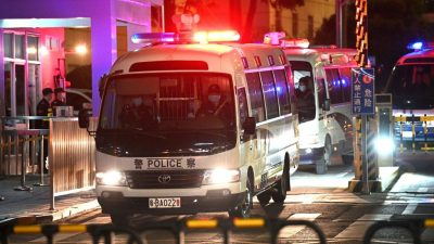Hongkong: Größte Massenverhaftung seit Inkrafttreten des Sicherheitsgesetzes