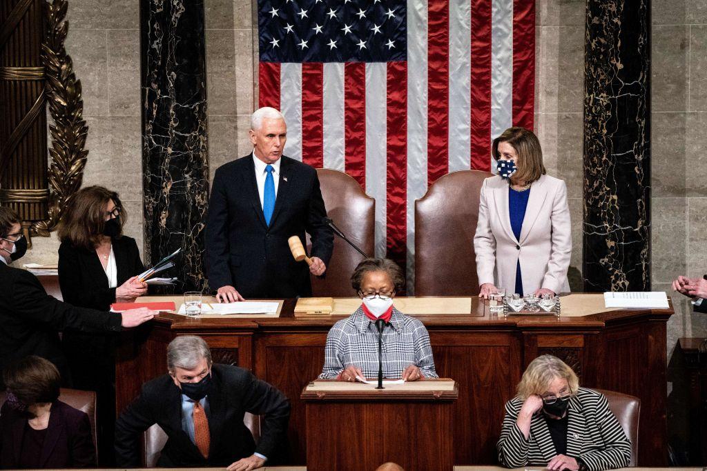 TICKER: Rücktritte im Weißen Haus – US-Kongress bestätigt den Sieg von Biden – Capitol-Polizei in der Kritik