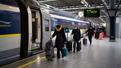Eurostar durch Corona-Maßnahmen in massiven Schwierigkeiten