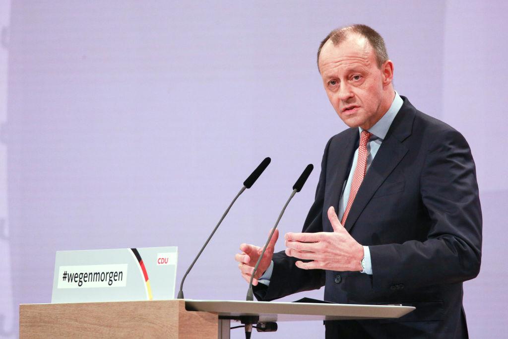 Merz ruft zur Unterstützung des neuen CDU-Vorsitzenden Laschet auf