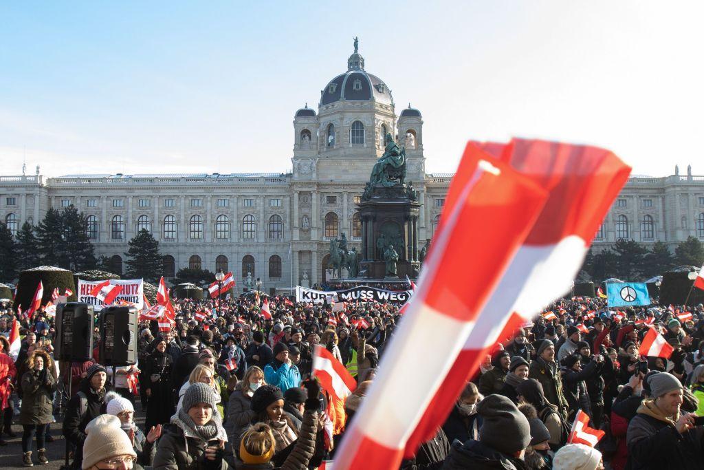 Österreichs Regierung verlängert harten Lockdown zunächst bis 7. Februar