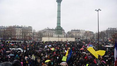 """""""Überall Polizei, nirgendwo Gerechtigkeit"""" – Neue Proteste gegen Sicherheitsgesetz in Frankreich"""