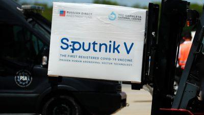 Russland beantragt Zulassung von Sputnik V in der EU