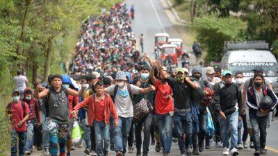 USA warnt: Grenzen bleiben zu – Mindestens 9.000 honduranische Migranten unterwegs gen USA