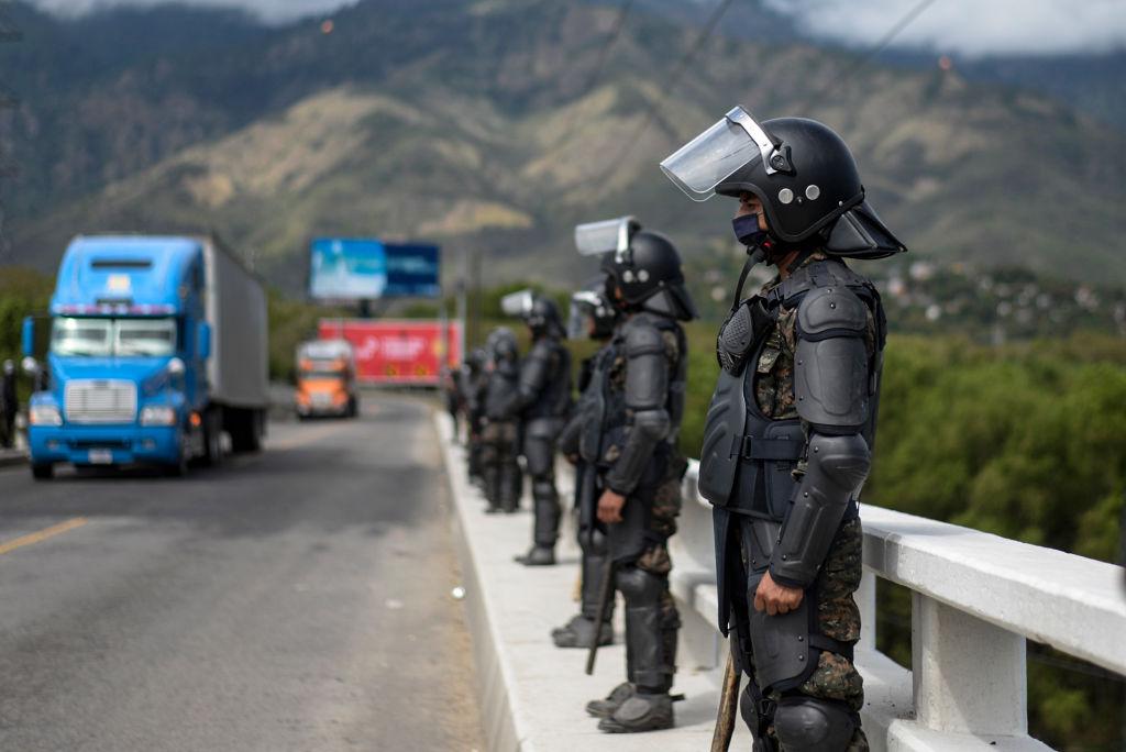 Guatemala bringt tausende Migranten zurück nach Honduras